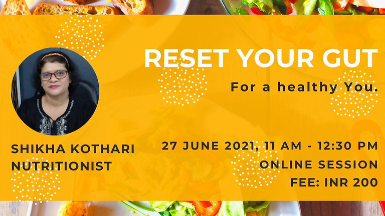Reset You Gut For a Healthy You