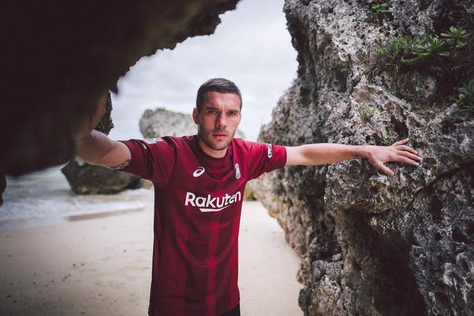 Lukas Podolski x Okinawa, Japan