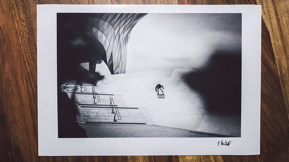 "Photoprint, Motiv ""Alex Schultz, BS Flip"", 45cm x 30cm"