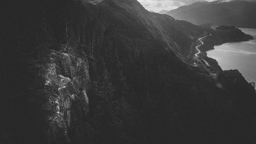 "Photoprint, Motiv ""Licht & Straße x Vancouver"", 45cm x 30cm"