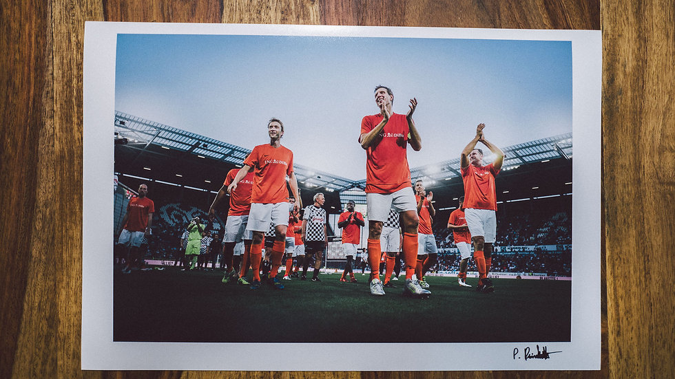 "Photoprint, Motiv ""Champions For Charity 2016"", 45cm x 30cm"