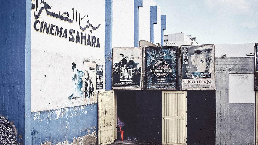 "Photoprint, Motiv ""Cinema Sahara x Morocco"", 45cm x 30cm"