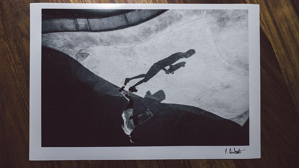 "Photoprint, Motiv ""Pooltime x Upside Down"", 45cm x 30cm"