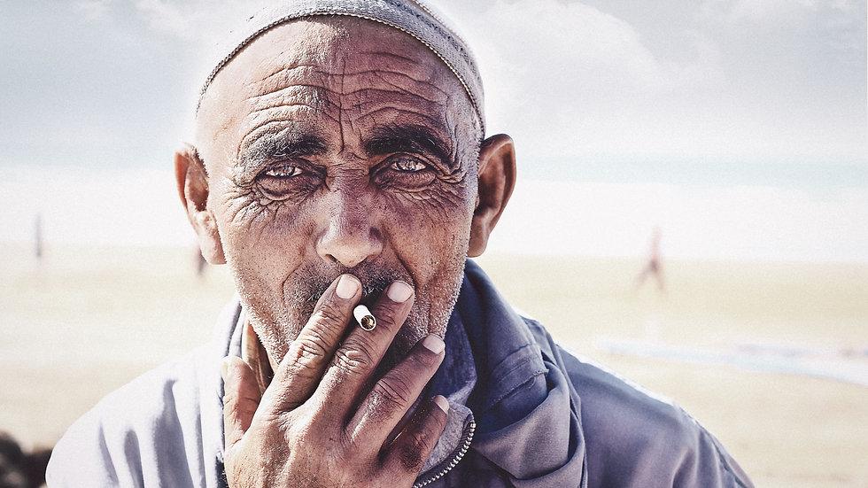 "Photoprint, Motiv ""Moroccan x Smoker"", 45cm x 30cm"