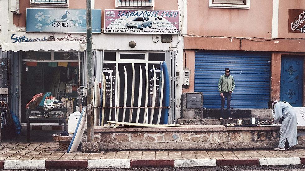 "Photoprint, Motiv ""Taghazoute x Morocco"", 45cm x 30cm"
