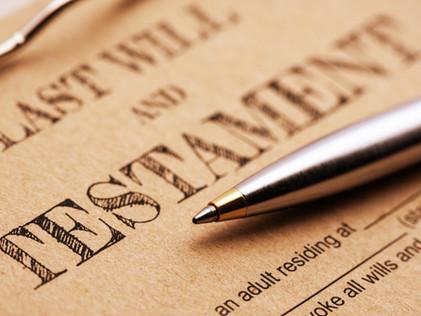 Como fazer um testamento?