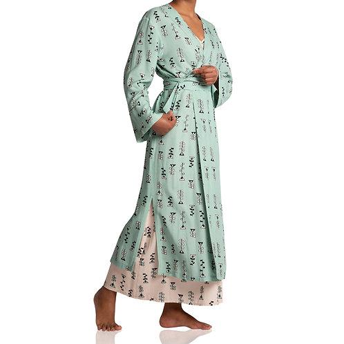 Robe Longo Candy Verde