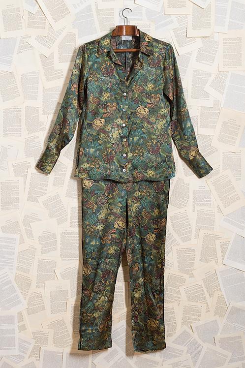Pijama Seda Pura Tapeçaria