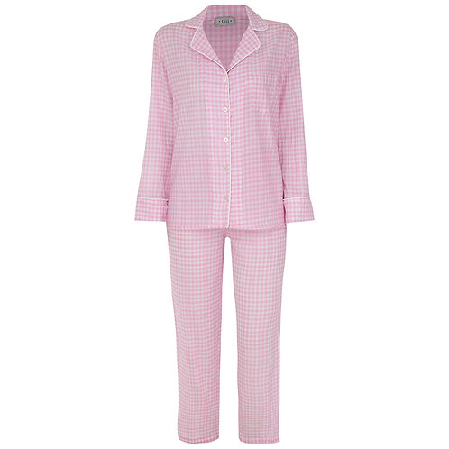 Pijama New Vichy Rosa