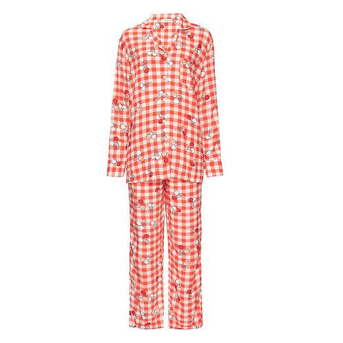 Pijama Cherry Vermelho