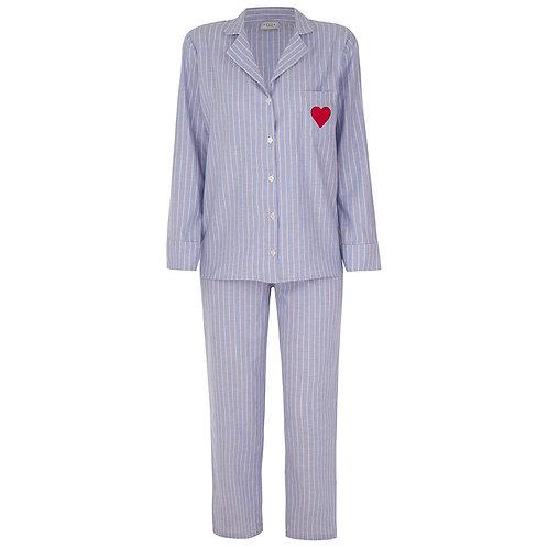 Pijama Lista Heart
