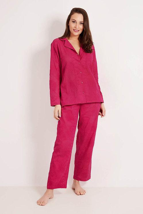 Pijama Bordado Pink
