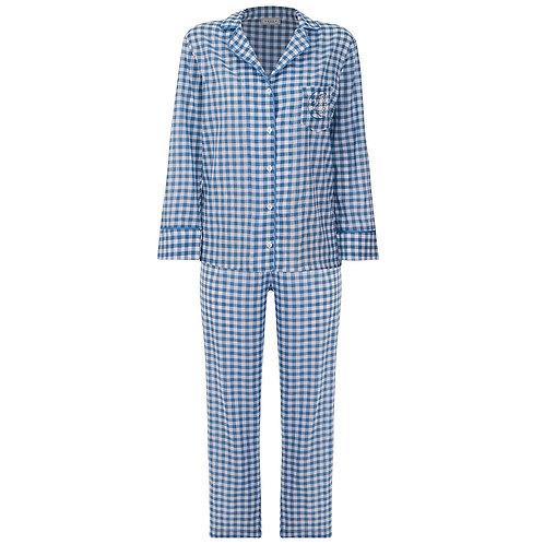 Pijama Vichy Azul