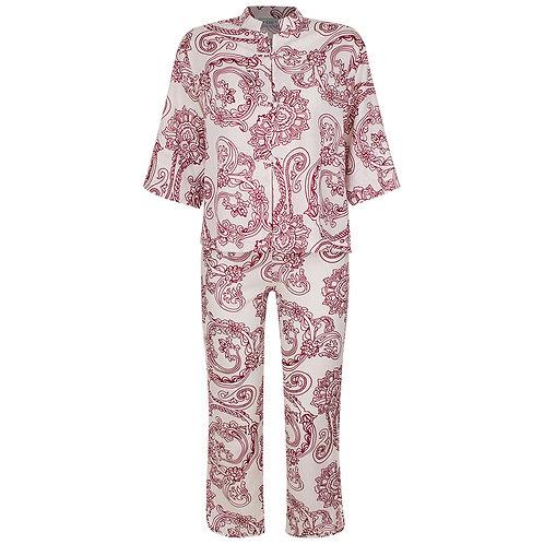Pijama Oriental Siena Vinho