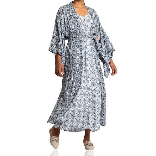 Kimono Longo Mosaico