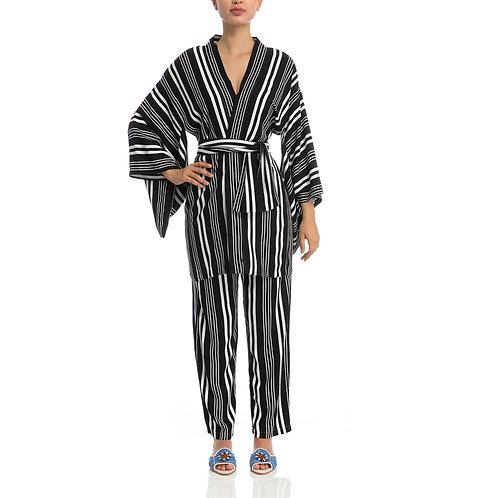 Kimono Curto Listras