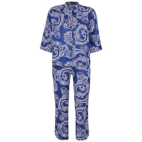 Pijama Oriental Siena Azul