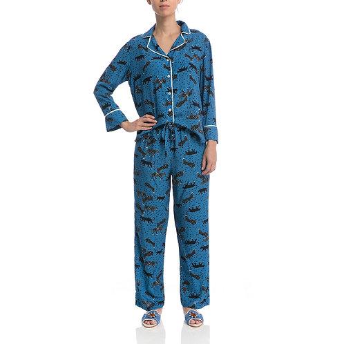 Pijama Safari Cobalto