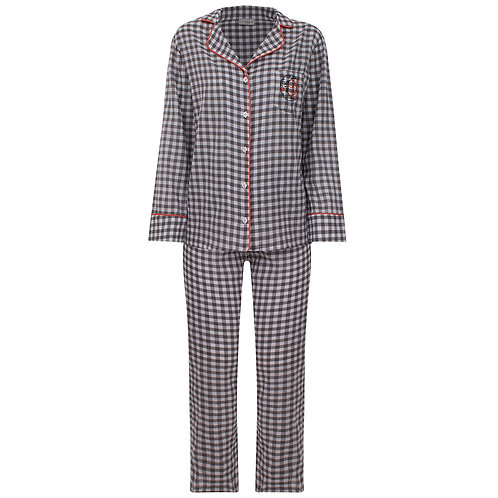 Pijama Vichy Preto