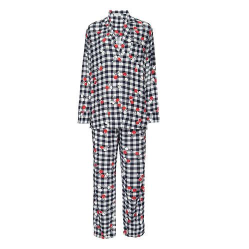 Pijama Cherry Azul