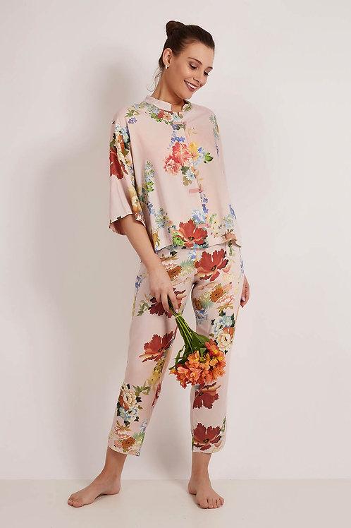 Pijama Oriental Le Jardin Rosa