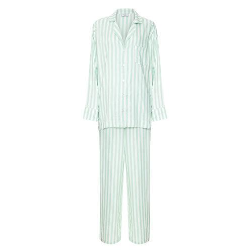 Pijama ListrasVerde