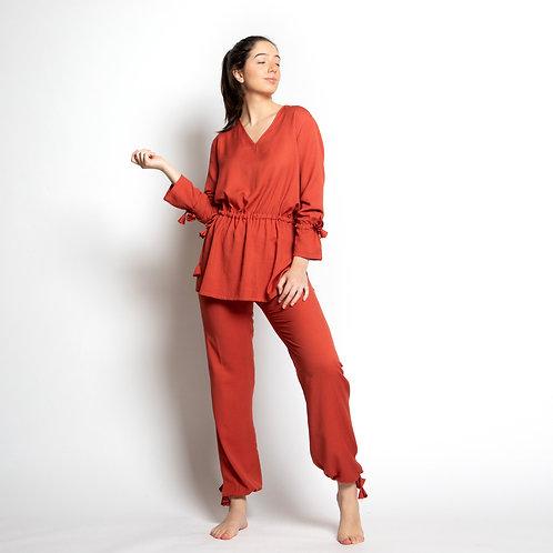 Pijama Mag Ferrugem