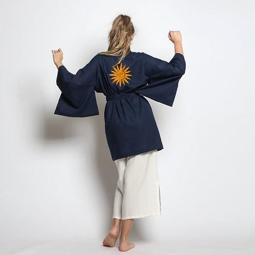 Kimono Curto Sol Bordado