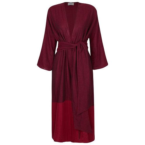 Robe Butão Vinho