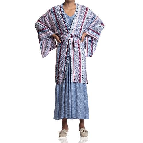 Kimono Curto Crepe