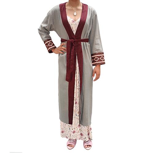 Robe Bicolor Bordado