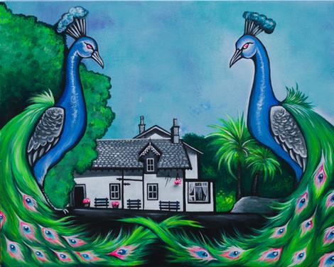 Lagg Hotel Peacocks