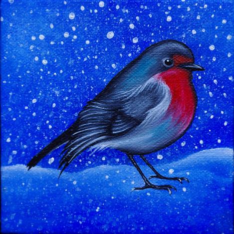 Winter Robin Redbreast