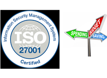 ISO 27001 - The Real Cost Of Success
