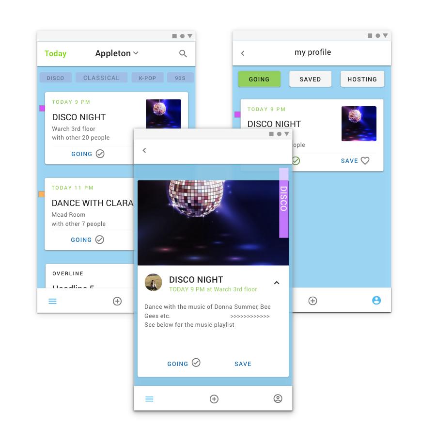 UX/UI Design: Danceby APP