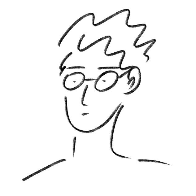 Boy in glasses