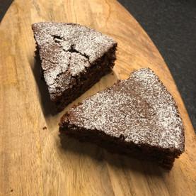 Schokoladen-Mandel-Kuchen