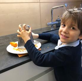 Mandel-Karotten-Kuchen