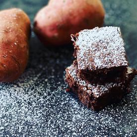Brownies mit Süsskartoffelmehl