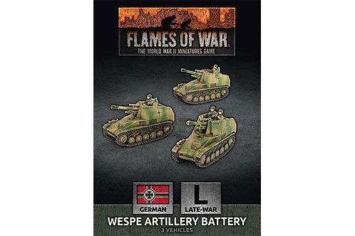 Flames Of War - Wespe Artillery Battery - Late War