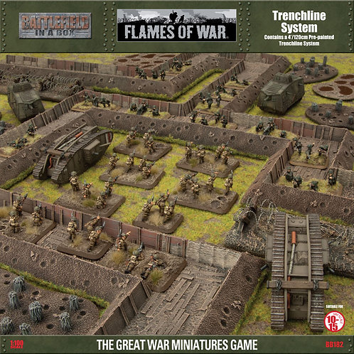 Great War - Trenchline System