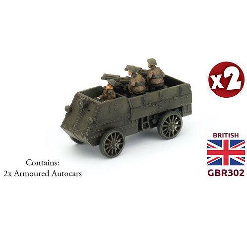 Armoured Autocar Section (x2)
