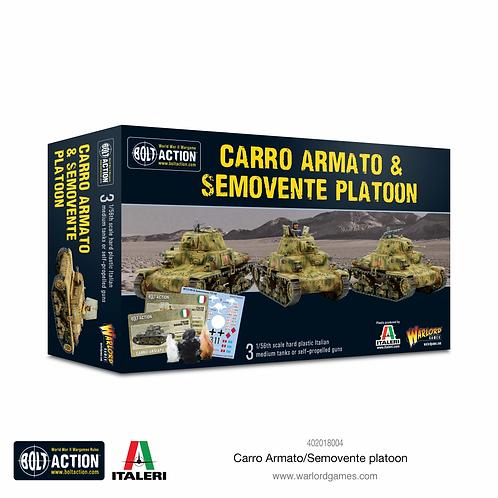 Carro Armato/Semovente Platoon