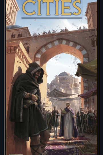 7 Wonders (2nd Edition): Cities Expansion