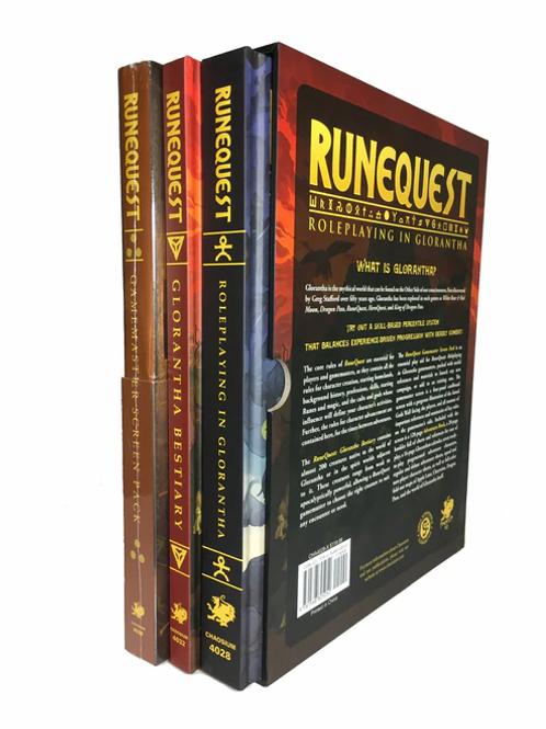 Runequest RPG: Deluxe Slipcase Set