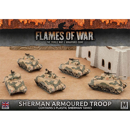 Flames Of War - Sherman Armoured Troop