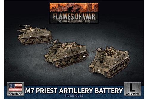 Flames Of War - M7 Priest Artillery Battery [UBX73]