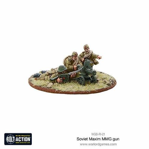 Soviet Maxim MMG Team