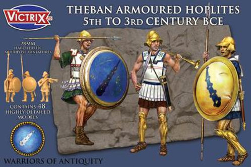VICTRIX - 28mm Theban Armoured Hoplites 5th to 3rd Century BCE