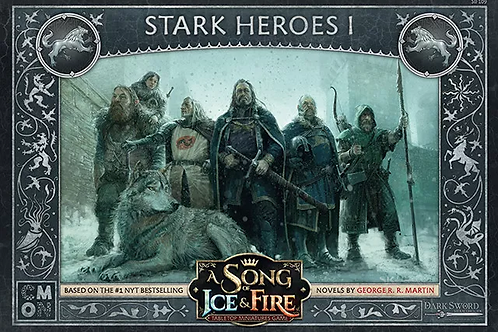 A Song Of Ice And Fire: Stark Heroes Box #1 Expansion